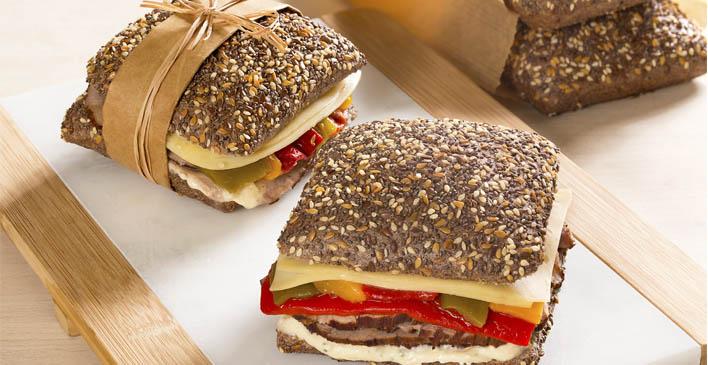 Breakfast sandwich Ricca