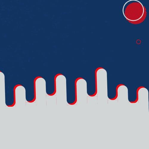 Imagem abstrara com um circulo