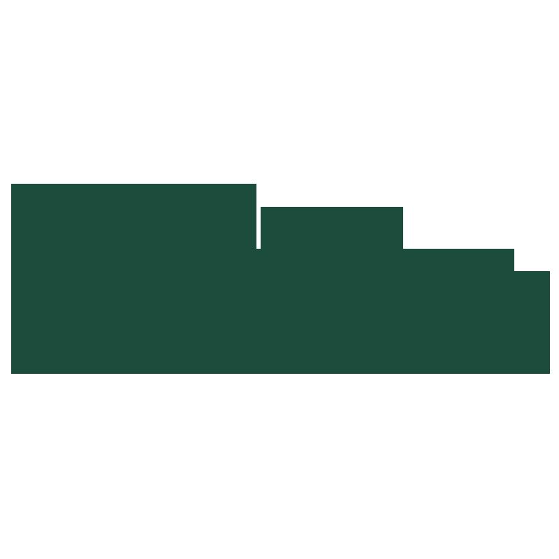 logo verde da kind leather o verdadeiro couro sustentável