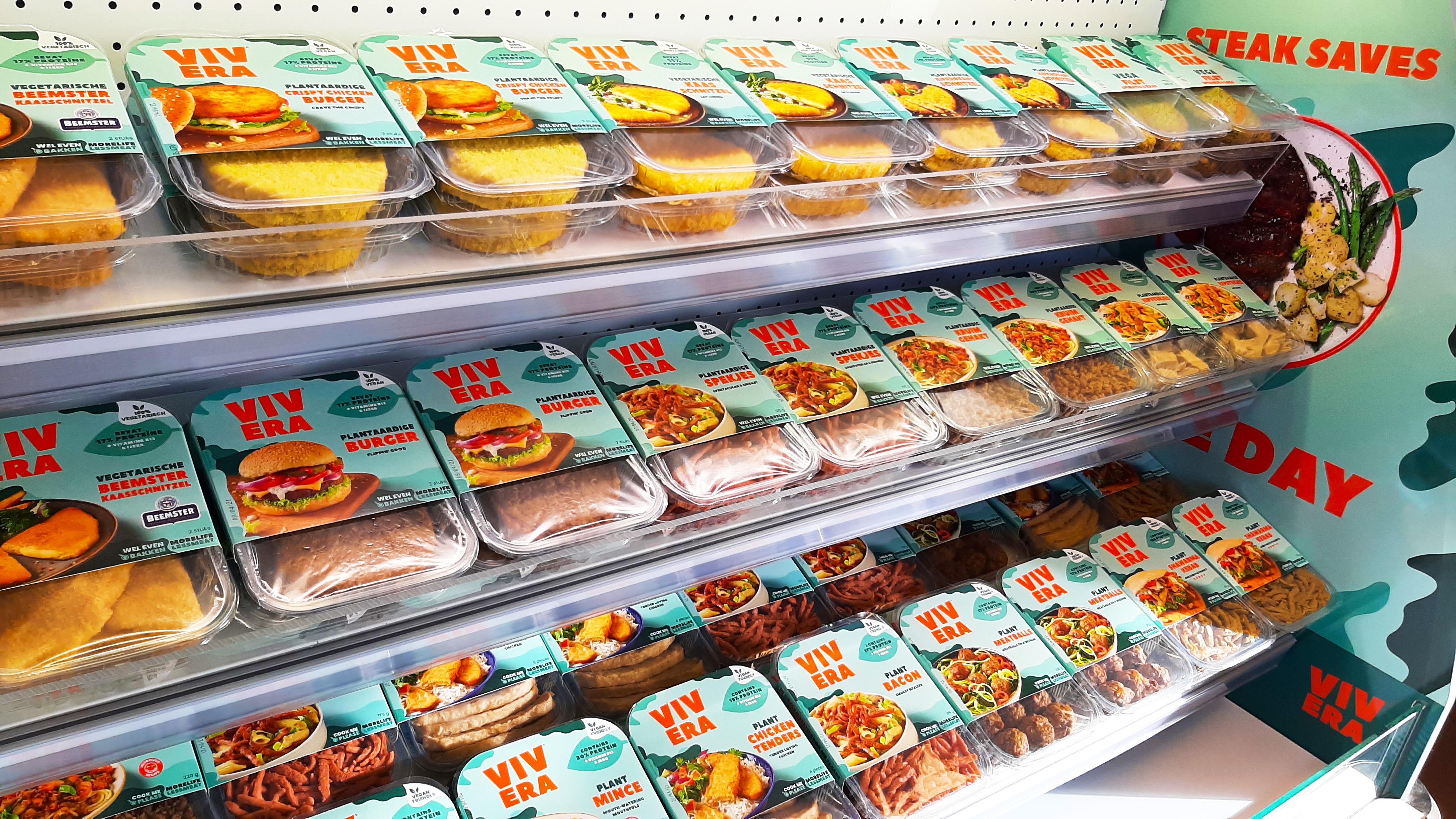 produtos vivera em um prateleira