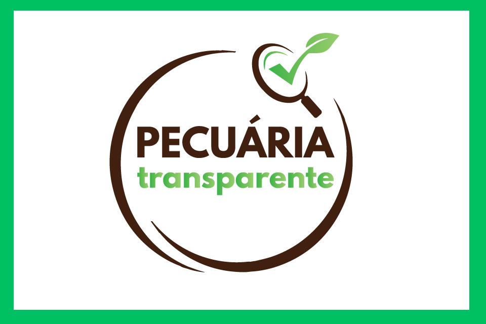 Logo pecuária transparente